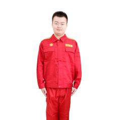 工衣 工作服套装 红色 衣服 积分兑换 XXL码