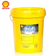 壳牌佳度润滑脂Gadus S3 V220C 2/P 18kg 壳牌润滑脂 QP0306008