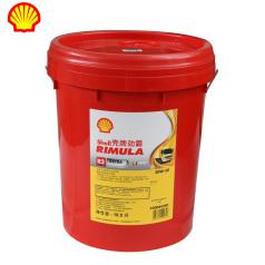 壳牌劲霸R2增强型CF-4(20W-50)18L 壳牌机油 柴油机油 矿物质机油 QP0202021