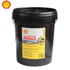 壳牌劲霸R3Turbo CH-4 (20W-50)18L 壳牌机油 柴油机油 矿物质机油 QP0202011