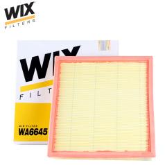 維克斯空氣濾清器WA6645,上汽名爵7 1.8/2.5(2007- ) WIX/維克斯濾清器