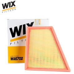 维克斯空气滤清器WA6702,上海大众POLO 1.6L(2002.01-2006.01) WIX/维克斯滤清器