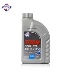 福斯泰坦 MC 分子油 SN/CF 5W-40 1L 福斯機油 FS10006 (12支/箱)