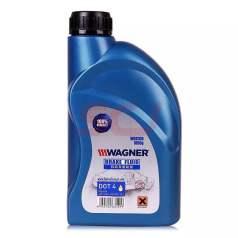 瓦格纳机动车制动液 瓦格纳刹车油DOT4 刹车液 1L (15瓶/箱,请按箱购买)