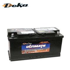 美國DEKA AGM蓄電池 L6-105 , 20-100/20-110(105Ah) 德克蓄電池 9AGM95R(H9