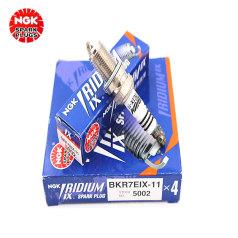 NGK铱合金火花塞 BKR7EIX-11 5002 NGK火花塞 适用号755 (10只/小箱 请按箱购买)