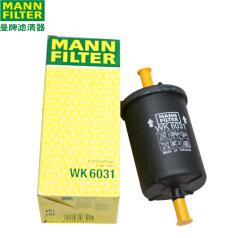 曼牌燃油滤清器WK 6031 标致(东风标致 雪铁龙 世嘉 凯旋 富康 爱丽舍 赛纳,燃油格 燃油滤芯WK6031
