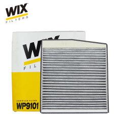 维克斯空调滤清器WP9101,(含碳) 进口沃尔沃S60 S80(1998-2006) WIX/维克斯滤清器