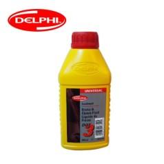 德尔福科技 刹车油 DOT3 0.5L 德尔福刹车油 制动液SSB9312M.CH (包装0.5L*20,价格为单瓶)