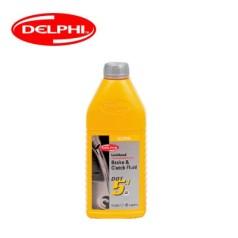 德尔福科技 刹车油 DOT5.1 ESP 1.0L 德尔福刹车油 制动液SSB9514M.CH (包装1.0L*20,价格为单瓶)