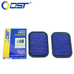 奥斯特空调滤清器SC51070,奇瑞A5,1.5L(内),旗云3,空调格