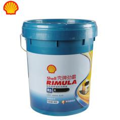 殼牌勁霸R5X合成柴油機油15W40 CI-4 18L 殼牌機油 柴油機油 半合成機油