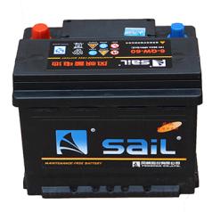 风帆蓄电池 6-QW-60R (L2-400R) HT 风帆电池FF00063