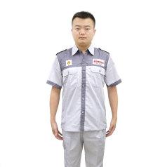 殼牌勁霸灰色短袖工衣套裝