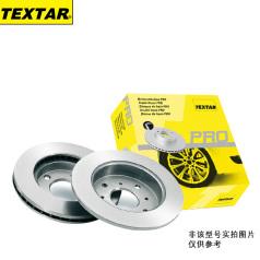 TEXTAR92099903 泰明頓剎車盤,前 保時捷 (進口) 911 (997) 3.6 Carrera