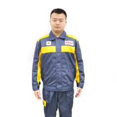 劲霸灰色长袖套装(灰领)工衣套装 积分兑换