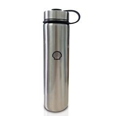 壳牌灰色不锈钢保温杯