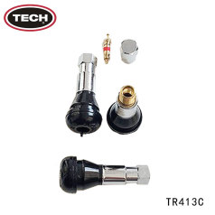 泰克TR-413C半鋁無內胎氣門嘴 100只 (整包價格)