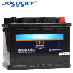 嘉樂馳(金牌)L2-60 , (60Ah)嘉樂馳金牌EFB蓄電池 嘉樂馳蓄電池 JL0700007