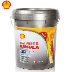壳牌劲霸R6 M (10W-40)18L 壳牌柴机油R6M 10W40 全合成机油 QP0201001