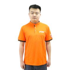 PDK短袖工衣(橙色) T恤衫