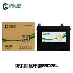 快乐跑汽车蓄电池 55D26L (60Ah)